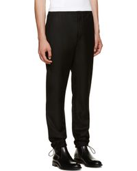 Acne Studios - Black Pace Trousers for Men - Lyst