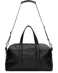 Maison Margiela - Black Nylon Duffle Bag for Men - Lyst
