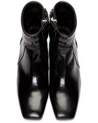 Rick Owens - Black Sliver Boots - Lyst