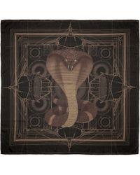 Givenchy - Black Cobra Scarf for Men - Lyst