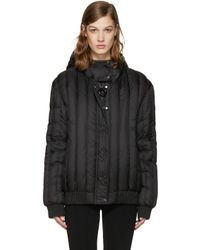 Carven | Black Crystal Hooded Jacket | Lyst