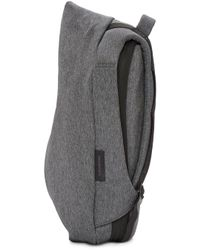 Côte&Ciel - Gray Grey Eco Yarn Medium Isar Backpack - Lyst