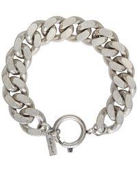 Isabel Marant - Metallic Silver Rich Bracelet - Lyst