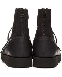 OAMC Black Aviator Boots for men