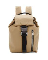 1017 ALYX 9SM ベージュ Baby X-bag バックパック Natural
