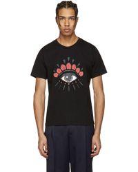KENZO | Black Eye T-shirt for Men | Lyst