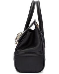 Versace Black Medium Palazzo Empire Bag
