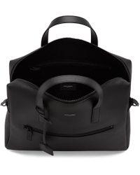 Saint Laurent Black Leather Briefcase for men