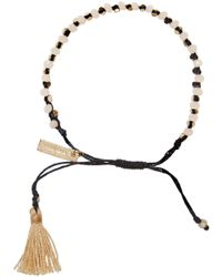 Isabel Marant | Black Beaded Kaya Bracelet | Lyst