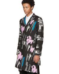 Comme des Garçons | Multicolor Pigment Print Coat for Men | Lyst