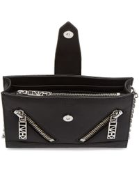 KENZO Black Kalifornia Chain Wallet Bag