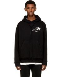 Song For The Mute Black Nothing Edition 'super Dry' Hoodie for men