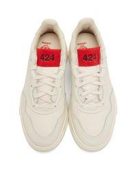 Baskets blanc casse SC Premiere edition adidas Originals 424 pour homme en coloris White