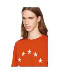 メンズ Etudes Studio オレンジ Story Europa スウェットシャツ Orange