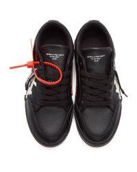 Baskets noires Arrows Low Vulcanized Off-White c/o Virgil Abloh en coloris Black
