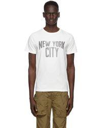 メンズ Remi Relief オフホワイト New York City T シャツ White
