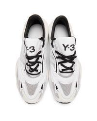 メンズ Y-3 ホワイト Ren スニーカー Multicolor