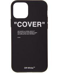 Off-White c/o Virgil Abloh Black Quote Iphone 11 Pro Case