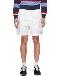 メンズ Polo Ralph Lauren ホワイト Prepster ショーツ White