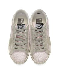 Golden Goose Deluxe Brand Ssense 限定 ピンク グリッター スーパースター スニーカー Pink