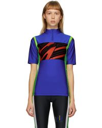 Martine Rose Ssense 限定 ブルー サイクリング T シャツ Blue