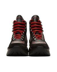 Bottes noires et rouges Inca Jimmy Choo en coloris Red