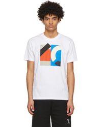メンズ KENZO ホワイト Sport ロゴ T シャツ White
