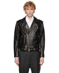メンズ 3.1 Phillip Lim ブラック モト ジャケット Black
