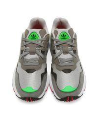 Adidas Originals Gray Grey Yung 96 Sneakers