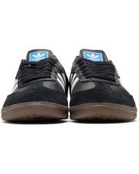 Adidas Originals - Black Samba Sneakers for Men - Lyst