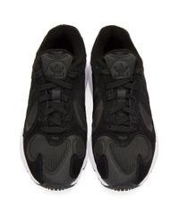 Adidas Originals ブラック Yung-1 スニーカー Black