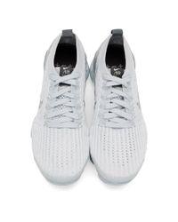 Nike White Air Vapormax Flyknit 3 Sneakers