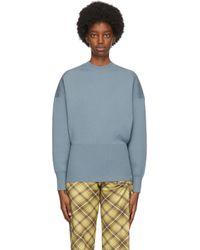 Acne ブルー ウール セーター Blue