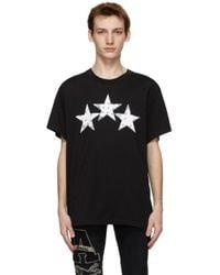 メンズ Amiri ブラック Bandana Stars T シャツ Black