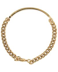 A.P.C. - Metallic Gold Darwin Bracelet for Men - Lyst