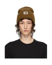 Bonnet brun Watch Carhartt WIP en coloris Brown