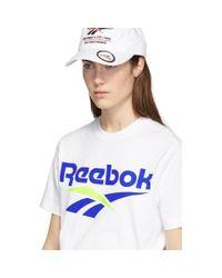 Reebok ホワイト Cl V T シャツ White