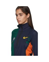 Nike Sacai Edition マルチカラー Nrg ハーフジップ ランニング ジャケット Multicolor