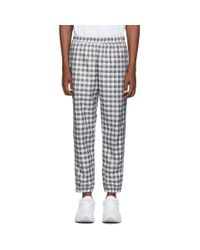 Opening Ceremony Multicolor Black And White Oc Windbreaker Lounge Pants for men