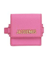 Jacquemus ピンク Le Sac Bracelet ポーチ Pink