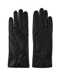 Gants en cuir noirs Joris Ann Demeulemeester pour homme en coloris Black