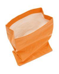 Simon Miller オレンジ スモール ランチ バッグ 20 クラッチ Orange