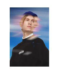 メンズ ADER ERROR Ssense 限定 Ascc コレクション ブラック アンバランス ヨーク スウェットシャツ Black