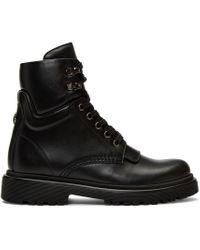 Moncler Black Patty Ankle Boots