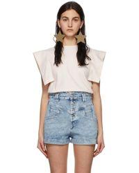 Isabel Marant オフホワイト Zelipa T シャツ White