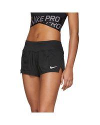 Short noir Crew Nike en coloris Black