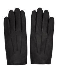 Gants noirs HLG 50 HUGO pour homme en coloris Black