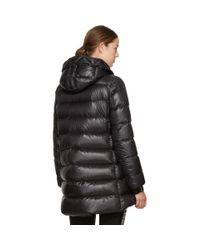 Moncler Black Down Suyen Coat