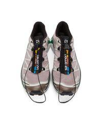 Salomon パープル Xt-6 アドバンス スニーカー Multicolor