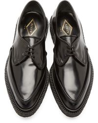 Adieu Black Type 51 Derbys for men
